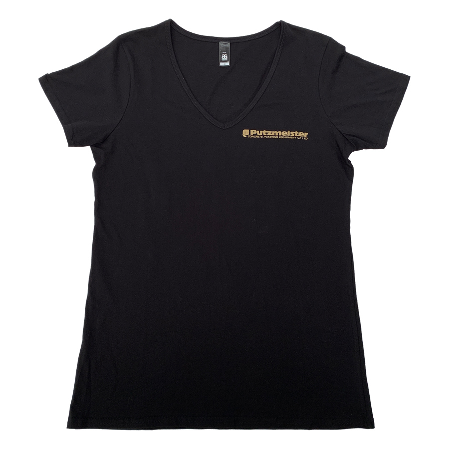 PUTZMEISTER LADIES TEES GOLD MEDIUM